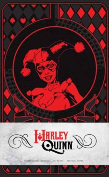 Harley Quinn Ruled Pocket Journal, Hardback Book