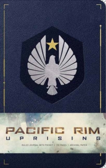 Pacific Rim Uprising Hardcover Ruled Journal, Paperback Book