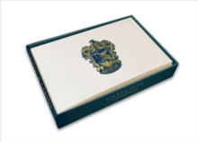 Harry Potter: Ravenclaw Foil Note Cards (Set Of 10), Hardback Book