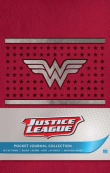 DC Comics: Justice League Pocket Journal Collection : Set of 3, Paperback Book
