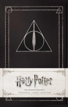 Harry Potter: The Deathly Hallows Ruled Notebook, Notebook / blank book Book