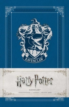 Harry Potter: Ravenclaw Ruled Notebook, Notebook / blank book Book