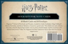Harry Potter: Hogwarts Foil Note Cards : Set of 10, Kit Book