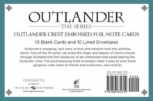 Outlander Crest: Foil Note Cards : Set of 10, Kit Book