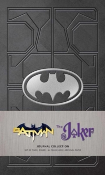 DC Comics: Character Journal Collection : Batman and Joker Set of 2, Paperback Book