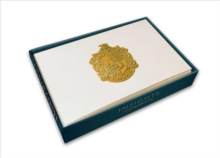Harry Potter: Hufflepuff Crest Foil Note Cards : Set of 10, Kit Book