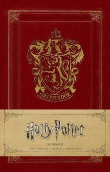 Harry Potter: Gryffindor Ruled Notebook, Notebook / blank book Book