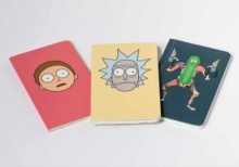 Rick and Morty: Pocket Notebook Collection : Set of 3, Paperback / softback Book