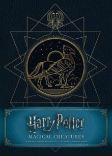 Harry Potter: Magical Creatures Hardcover Blank Sketchbook, Hardback Book
