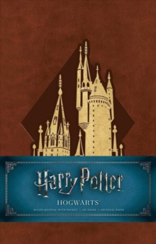 Harry Potter: Hogwarts Hardcover Ruled Journal, Notebook / blank book Book