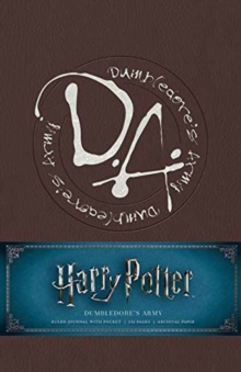 Harry Potter: Dumbledore's Army Hardcover Ruled Journal, Notebook / blank book Book