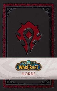 World of Warcraft: Horde Hardcover Ruled Journal. Redesign, Notebook / blank book Book