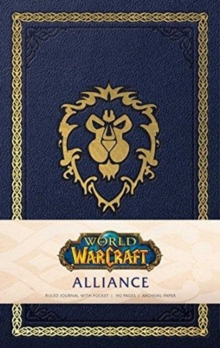 World of Warcraft: Alliance Hardcover Ruled Journal. Redesign, Notebook / blank book Book