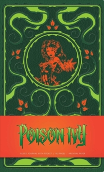 DC Comics: Poison Ivy Hardcover Ruled Journal, Notebook / blank book Book