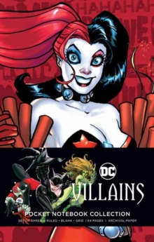 DC Comics: Villains Pocket Notebook Collection : Set of 3, Notebook / blank book Book