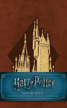 Harry Potter: Hogwarts Ruled Pocket Journal, Notebook / blank book Book