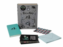 Rick and Morty Deluxe Note Card Set : With Keepsake Book Box, Cards Book