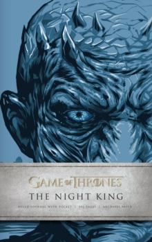 Game of Thrones: The Night King Hardcover Ruled Journal, Hardback Book