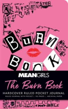 Mean Girls: The Burn Book Ruled Pocket Journal, Hardback Book