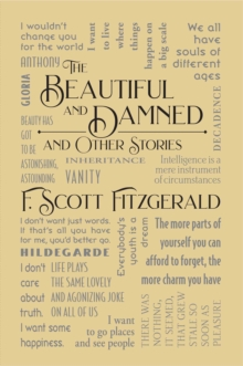 The Beautiful and Damned and Other Stories, EPUB eBook