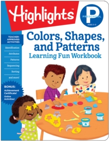 Colors Shapes Patterns : Highlights Hidden Pictures, Paperback / softback Book