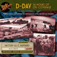 D-Day - 34 Hours of CBS Coverage, eAudiobook MP3 eaudioBook