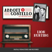 Abbott and Costello : Lion Hunting, eAudiobook MP3 eaudioBook