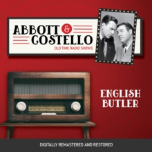 Abbott and Costello : English Butler, eAudiobook MP3 eaudioBook