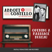 Abbott and Costello : Opening a Marriage Bureau, eAudiobook MP3 eaudioBook