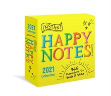 INSTANT HAPPY NOTES BOXED CALENDAR 2021,  Book