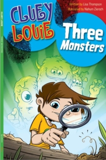 THREE MONSTERS, Paperback Book