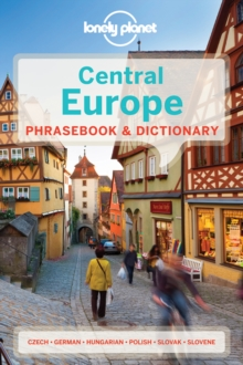 Lonely Planet Central Europe Phrasebook & Dictionary, Paperback / softback Book