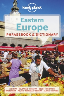 Lonely Planet Eastern Europe Phrasebook & Dictionary, Paperback / softback Book