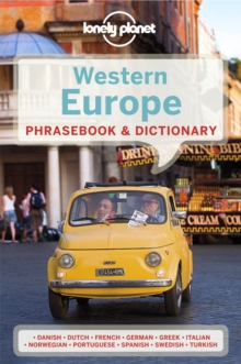 Lonely Planet Western Europe Phrasebook & Dictionary, Paperback / softback Book