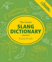 Aussie Slang Dictionary, Paperback Book