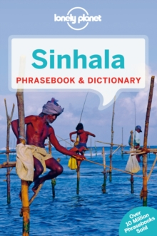Lonely Planet Sinhala (Sri Lanka) Phrasebook & Dictionary, Paperback / softback Book