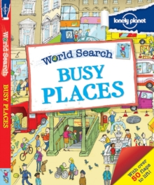 World Search - Busy Places, Hardback Book