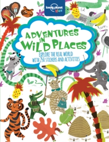 Adventures in Wild Places, Activities and Sticker Books, Paperback Book