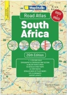 Road atlas South Africa, Paperback / softback Book