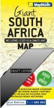 Giant South Africa map : Including Lesotho & Swaziland, Sheet map, folded Book