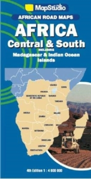 African road maps Africa Central & South : Including Madagascar & Indian Ocean Islands, Sheet map, folded Book
