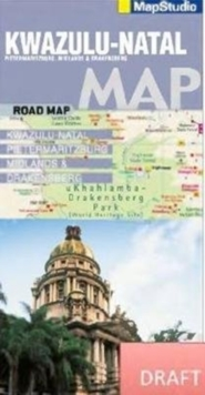 Kwazulu-Natal road map : Pietermaritzburg, Midlands & Drakensberg, Sheet map, folded Book