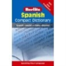 Berlitz Language: Spanish Compact Dictionary, Paperback Book