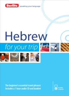Berlitz Language: Hebrew for Your Trip, Paperback Book
