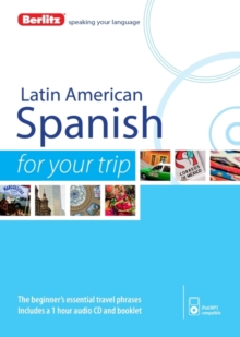 Berlitz Language: Latin American Spanish for Your Trip, Paperback Book