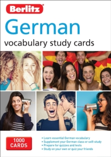 Berlitz Flash Cards German, Cards Book