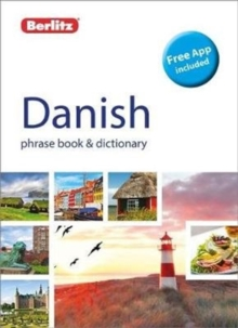 Berlitz Phrase Book & Dictionary Danish, Paperback Book