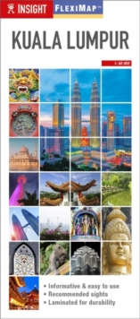 Insight Guides Flexi Map Kuala Lumpur, Sheet map Book