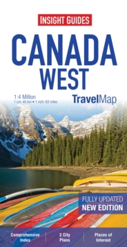 Insight Travel Maps: Canada West, Sheet map Book