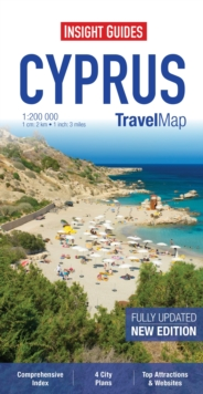 Insight Travel Maps: Cyprus, Sheet map Book
